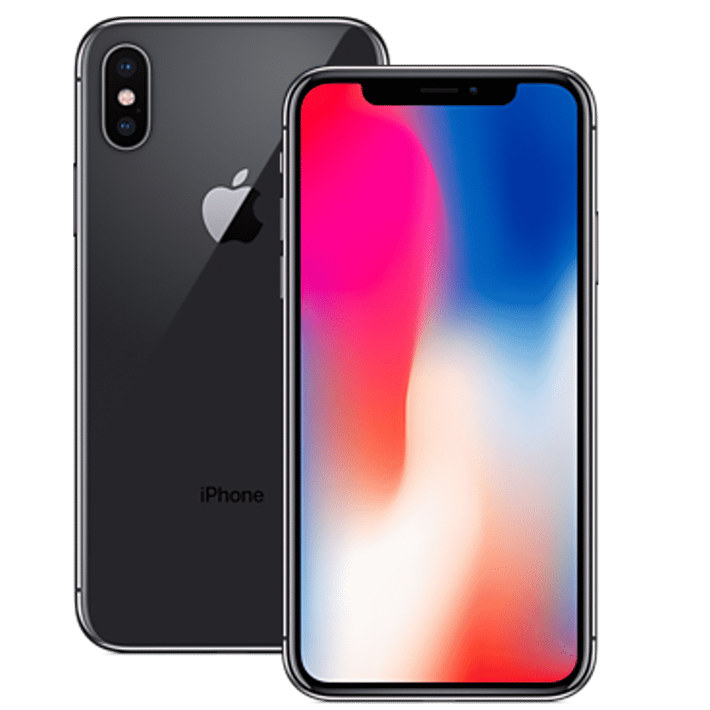 IPhone X Space Grey Front Back
